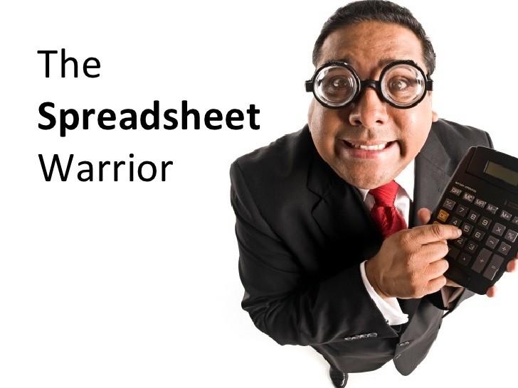 Spreadsheet Warrior